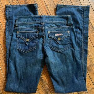 Hudson Flap Pocket Boot Cut Jeans 💋